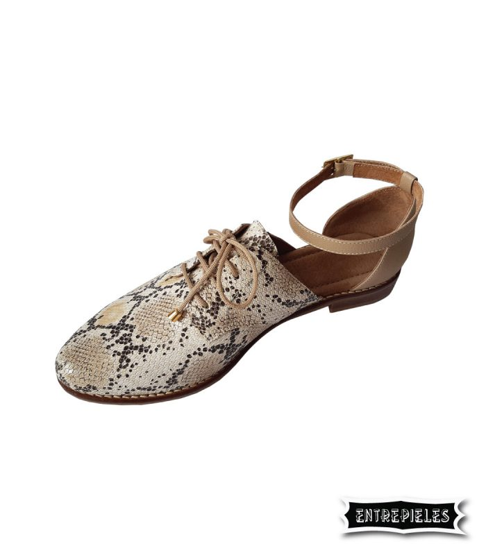Zapatilla Oxford Print